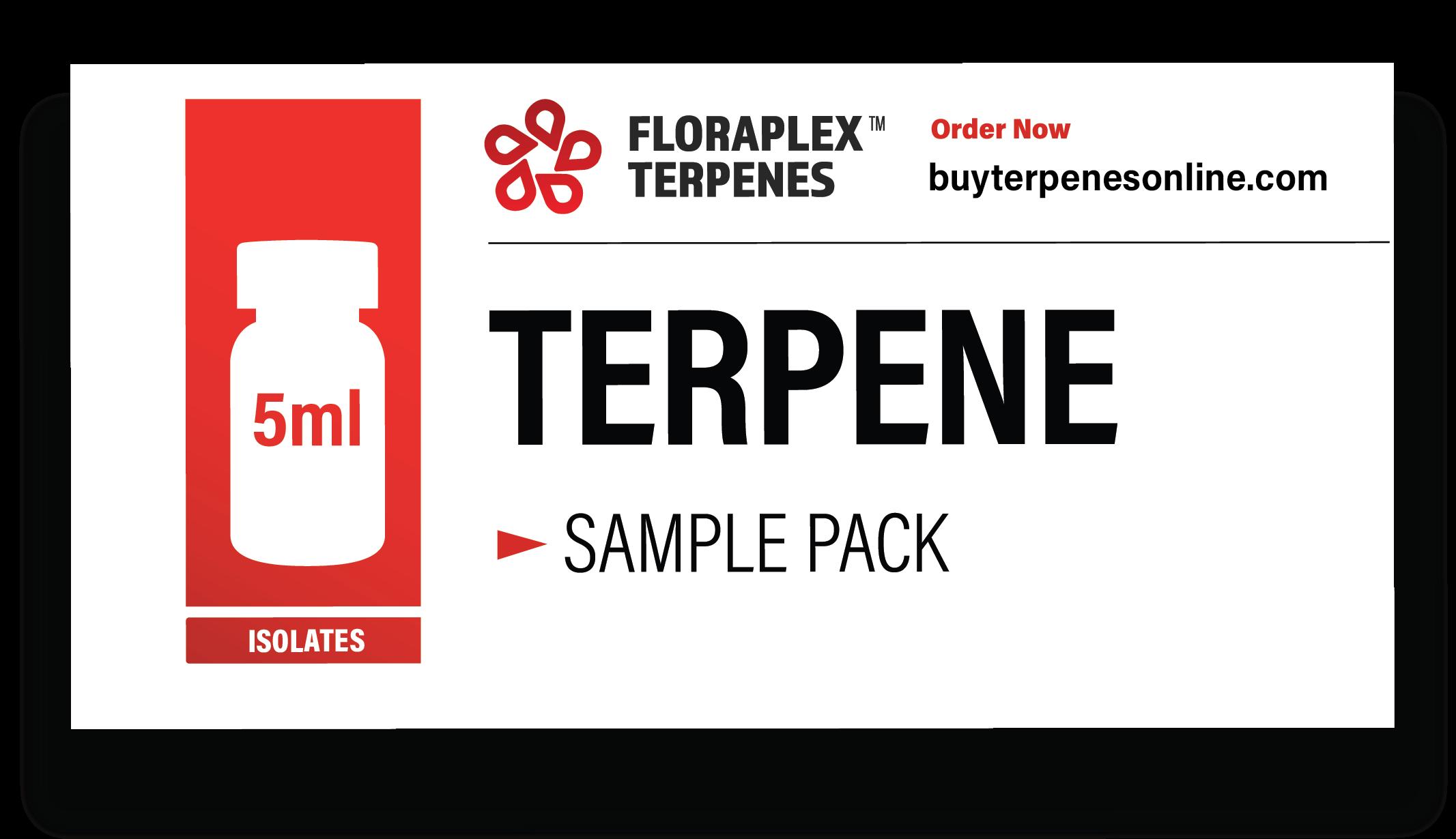 Floraplex Terpene Sample Pack Box