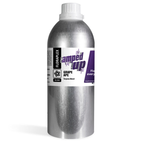 Grape Ape Amped Up - Floraplex 32oz Canister