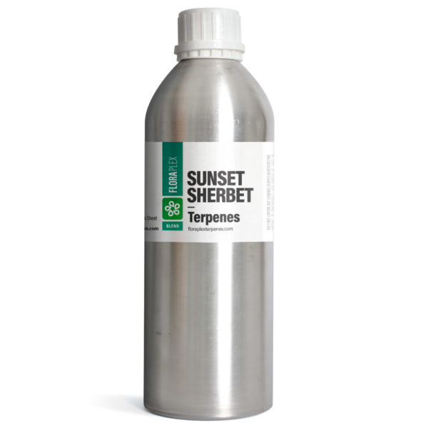 Sunset Sherbet Terpene Blend - Floraplex 32oz Canister