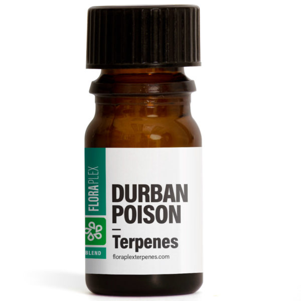 Durban Poison Terpenes Blend - Floraplex 5ml Bottle