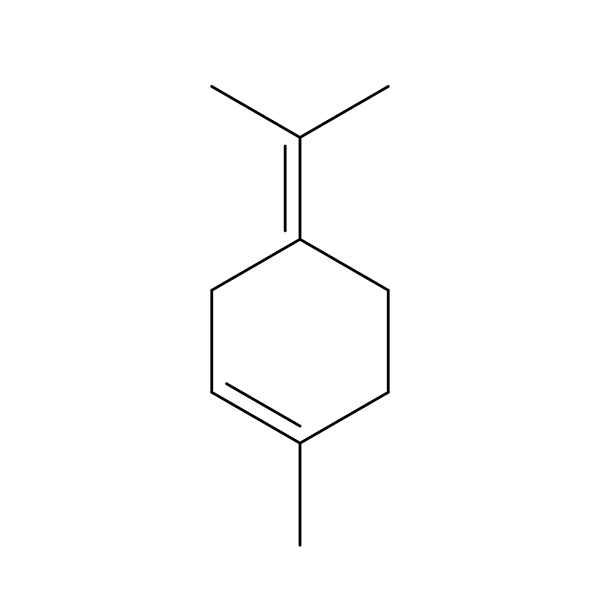 Terpinolene Terpene Molecule