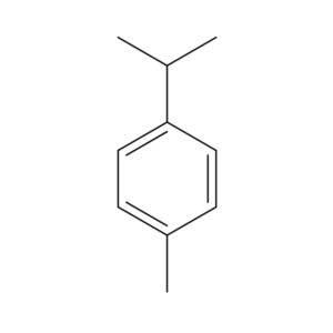 Para-Cymene Terpene Molecule