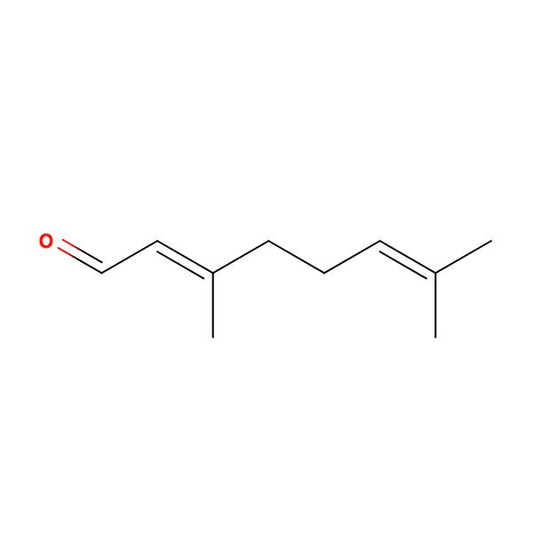 Citral Terpene Molecule