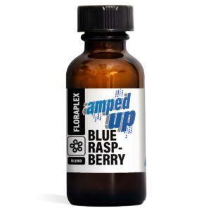 Blue Raspberry Amped Up - Floraplex 30ml Bottle