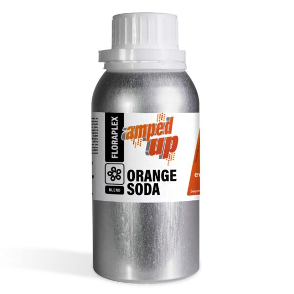 Floraplex Amped Up Orange Soda - 8 oz